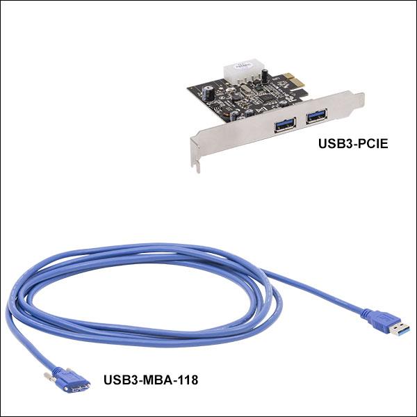 CMOS Cameras: USB 2.0 and USB 3.0 on