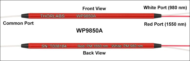2-Wavelength, Polarization-Maintaining WDMs
