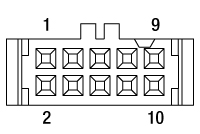 IDC Socket Pin Diagram