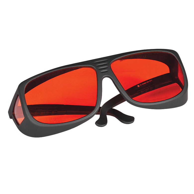 Thorlabs Lg3 Laser Safety Glasses Light Orange Lenses