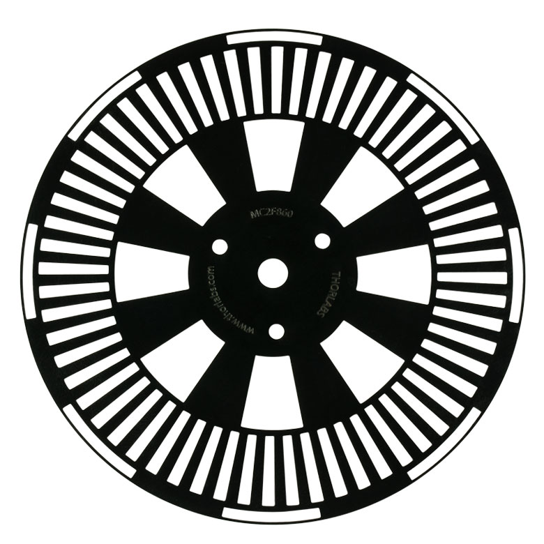 Optical Chopper System And Chopper Wheels