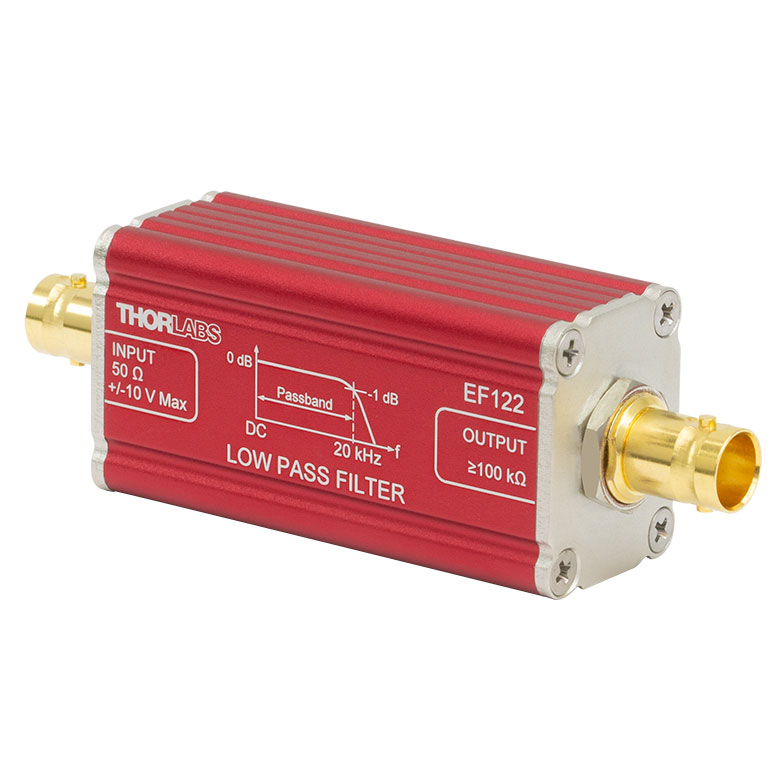 Thorlabs - EF122 Low-Pass Electrical Filter, ≤20 kHz